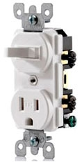 T5225 LEVITON 15A TR SWITCH/RCT COMBO 07847737858