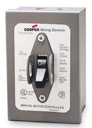 AH7810GD CWD MANUAL CONTACTOR 3PH 30A 600V IN NEMA 1 ENCLOSURE