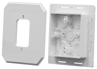 8081F ARL FLANGED SIDING BOX 15.5CU.IN DEPTH 1.125