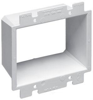 BE2 ARL 2-GANG PLASTIC BOX EXTENDER