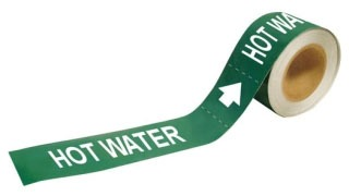 109221 BRADY HOT WATER WHITE / GREEN 75447367453