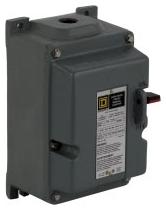 SQD 2510MCR2 MANUAL STARTER 230 VOLT M PLUS OPTIONS