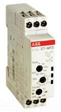 1SVR500020R0000 ABB MULTI FUNCTION TIMER CT-MFD.12, SPDT (6 AMP), DIN-MOUNT, 7-FUNCTION 7-TIME RANGES, 24-48VDC/24-240VAC POWERED