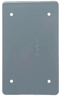 E980CN-CAR (5133362) GREY 1G BLANK FS BOX CVR