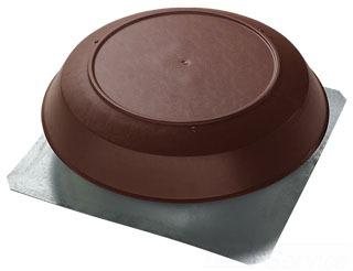 355BR NUTONE 1200 CFM ATTIC VENTILATOR WITH BROWN PVC DOME