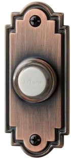 PB15LBR NUTONE OIL RUBBED BRONZE BUTTON