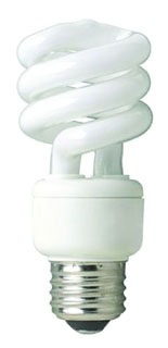 87654T SHAT-R-SHIELD COATED CFL-EL 23W/MINI TWIST/27K (PK X 10) 72658587654