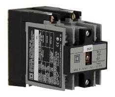 SQD 8501XO60XLV02 RELAY 600VAC 10AMP NEMA +OPTIONS