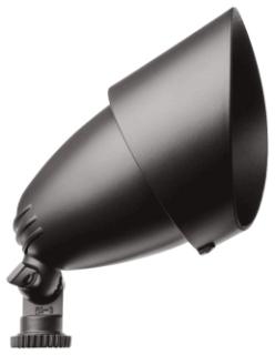 QB1A RAB 75W QUARTZ BRONZE BULLET FLOOD W/LAMP