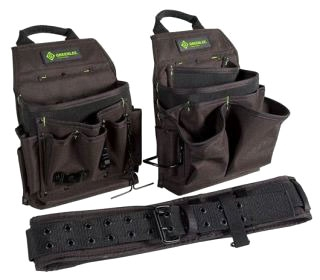 0158-16 GREENLEE POUCH/BELT COMBO 3PC 78331089205