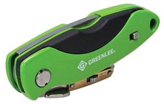 0652-23 GREENLEE FOLDING UTILITY KNIFE 78331000043