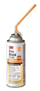 FB-FOAM-ORANGE 3M FIRE BLOCK FOAM ORANGE 12 FL OZ. AEROSOL CAN RESIDENTIAL USE ONLY