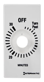 FD30MPW I-MATIC WHITE PLASTIC TIME DIAL ONLY FOR 30 MINUTE TIMER 07827511013