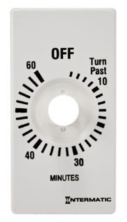 FD60MPW I-MATIC WHITE PLASTIC TIME DIAL ONLY FOR 60 MINUTE TIMER