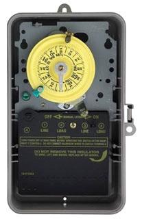 T104P INT NEMA 3R PLASTIC CASE 208- 277 V DPST GREY