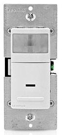 IPV05-1LZ LEV 1P LED/CFL/INCAND/FLUOR VACANCY SENSOR RELAY 180 DEG
