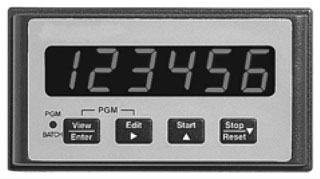 57701482 DUR Totalizer, 85-265 VAC, Count, Analog Out