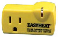 EH38 EAS PRESET THERMOSTAT 125V 15A PLUG TAP DRY LOC.