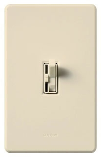 AYFSQFLA LUTRON ARIADNI LIGHT ALMOND 3-SPEED 1P 3W FAN CONTROL
