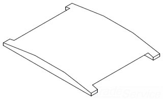 AA0126112 NELSON STL COMPRESSION PLATE