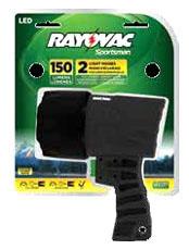 SPSP-B RAYOVAC SPORTSMAN EXTR 4C LED 200 LUMEN SPOTLIGHT