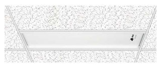 LG1T DUALLITE RECESSED T-GRID CEILING MOUNT, WHITE FIN 78252086201