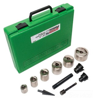 7907SBSP GREENLEE SPEED PUNCH KIT 1/2-2 MS W/O DRIVER