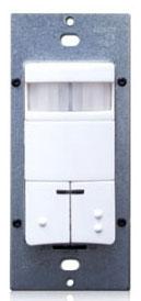 ODS0D-IDW LEV 120/277V DECORA WALL SWITCH OCC SENSOR W/PIR WHITE