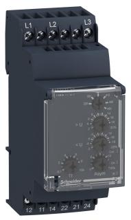 SQD RM35UB330 3-PHASE RELAY 250-VOLT 5-AMP RM35