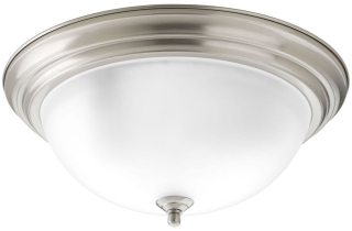 P3926-09ET PROGRESS 3-60W MED FLUSH MOUNT