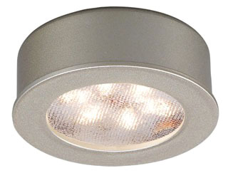 HR-LED87-BN WAC LEDME PUCK LIGHT NICKEL
