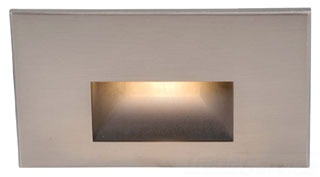 WL-LED100-C-BN WAC HORIZONTAL STEP LIGHT LED NICKEL