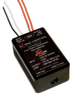 EN-1260-R2 WAC ELEC. TRANS 120V-12V 60W CLS 2 (EN-12PS)