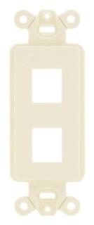 ISF2EI HUB PLATE, INFINE STYLELINE FRAME,2PORT,EI