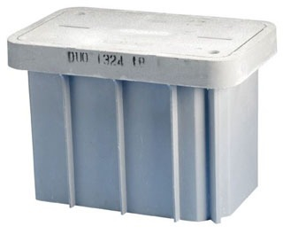 T416A ERICO ENCLOSURE,INSP,W/COVER,233/4 X 13 3/4 X 18IN HIGH 78285632376