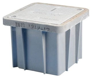 T416D ERICO ENCLOSURE,INSP,W-COVER,16 1/2 X 16 1/2 X 12IN HIGH 78285641929