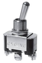SS206-15-BG SEL TOGGLE SWITCH SPDT MAINTAINED, ON/OFF/ON, 20AMP@125V 10AMP@250VAC, SCRW TERMLS