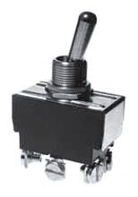 SS208R-BG SEL TOGGLE SWITCH DPDT ON/ON 20AMP@125VAC 10AMP@250VAC SCRW TERMLS 774015