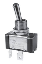 SS206AP-BG SELECTA SWITCH, TOGGLE SPST, OFF-(ON) 15A, 125VAC, 10A 250VAC, 3/4HP 15/32