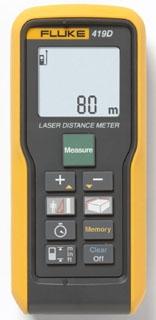 FLUKE-419D FLUKE LASER DISTANCE METER - 80M/260FT MAX 09596961356