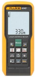 FLUKE-424D FLUKE LASER DISTANCE METER - 100M/330FT MAX