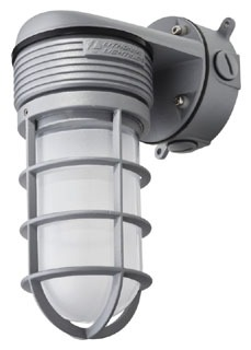 OLVTWM-M6 LITHONIA 15W VAPERPROOF WALL MOUNTJELLY JAR LED FIXTURE (CI# 211RM6)