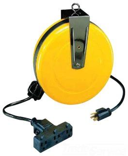 3210-30-TT ERICSON CBL REEL, 30' #14/3 SJTW CABLE W/TRI-TAP