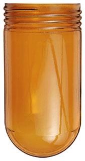 GL100A RAB GLOBE GLASS 100 SERIES AMBER 01981395102