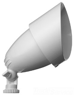 QB1W RAB 75W WHITE QUARTZ BULLET FLOOD W/LAMP