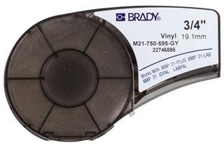 M21-750-595-GY BRADY CART M21 B595 0.75