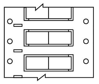 BRADY PS-250-2-WT-S-2 .250 INCH DIAMETER PERMASLEEVE, SINGLE ROLL BOX, SPLIT