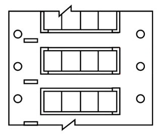 BRADY PS-187-2-WT-4 0.187-IN (4.75mm) DIAMETER PERMASLEEVE MARKERS 1-SIDE PRINTABLE 10,000 PER ROLL