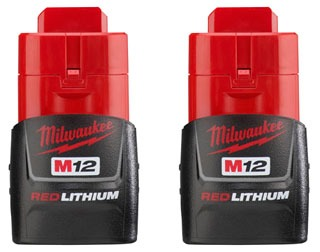 48-11-2411 MILWAUKE M12 COMPACT BATTERY