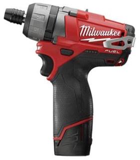 2402-22 MILWAUKE 1/4 12V HEX S/D KT 04524226825